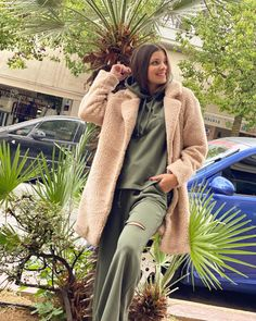 Office Outfits, Office Wear, Best Facebook, Lounge Wear, Fur Coat, Plaid, Hoodies, Denim, Stylish