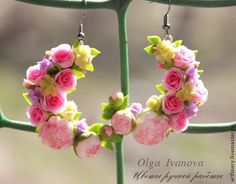 """""""Feast of Spring"""" earrings by Olga Ivanova"""