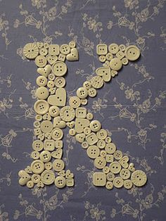 Idea for daughters room.  Need to find a cool shadow box frame at a flea market or antique market and put the letter inside.