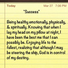 """Success""    like this was written for me!!lol"