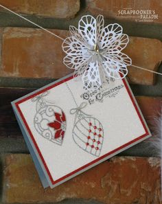 Scrapbooker's Paradise Blog: Wild Wednesday - Card and Photo Clips