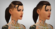 Lana CC Finds - xldsims: This hair is modeled so obviously after...