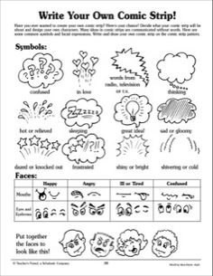 comic strip lesson plan essay Use this lesson plan to teach your students about onomatopoeias students will read a text lesson explaining the term, along with examples, then.