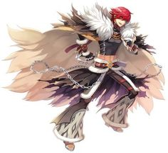 Male Shadow Chaser New Costume Official Illustration