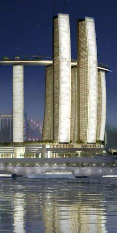 Chongqing Chaotiamen Towers, Raffles City, Chongqing, China by Moshe Safdie and Associates Architects :: 78 floors, height 347m