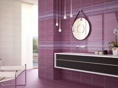 MARAZZI Bathroom Lighting, Colours, Mirror, Furniture, Purple, Home Decor, Bathroom Light Fittings, Bathroom Vanity Lighting, Decoration Home