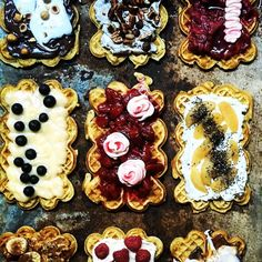 #TBT waffles waffles and more waffles with @lisaatkinsonphotographer. Top left was my fave Nutella marshmallow and toasted hazelnuts   #stylist #foodstylist #productstylist #melbourneproductstylist #melbournefoodstylist #melbournestylist #sksstyling #sachakannstyling #waffles