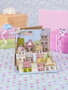 New home card from Papercraft Inspirations issue 149