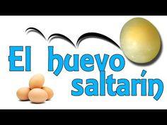 El huevo saltarín (Experimentos Caseros para niños) - YouTube