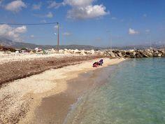 Ireon Beach in November on Samos