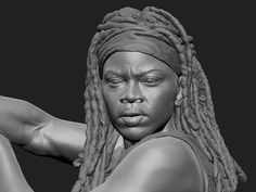 http://www.zbrushcentral.com/showthread.php?195621-Michonne