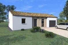 Voici ici le modèle Léa, idéal pour une construction en Vendée, il comporte 3 chambres. Une maison Alliance Construction pour la Vendée !