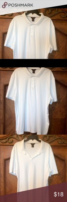 Big and Tall, CK XXL golf shirt Men's XXL, 100% cotton Calvin Klein golf shirt. This shirt is very comfy and soft. It's in excellent condition with no visible flaws Calvin Klein Shirts Polos