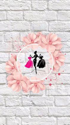 Pink Instagram, Instagram Frame, Instagram Logo, Cute Wallpapers, Wallpaper Backgrounds, Iphone Wallpaper, Logo Online Shop, Fashion Logo Design, Boutique Logo