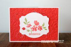 Stampin' Up!-Painted Petals-Geburtstagskarte