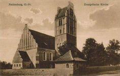Neidenburg, Ostpr. Evangelische Kirche. 1925.