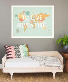 Love this Blue 'Big Adventure' Print on #zulily! #zulilyfinds