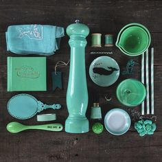 Instagram project called #colorsorganizedneatly by emily blincoe | #color #green