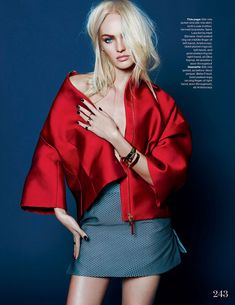 Publication: Elle UK December 2013 Model: Candice Swanepoel Photographer: Kai Z Feng Fashion Editor: Anne-Marie Curtis by Staff USA Candice Swanepoel, Fashion Models, High Fashion, Fashion Show, Womens Fashion, Dope Fashion, Uk Fashion, Kai, Black And White