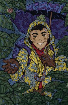 Cascão - Pintura Digital Arte de Mauricio de Sousa Turma da Monica Jovem