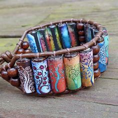 Hoi! Ik heb een geweldige listing gevonden op Etsy http://www.etsy.com/nl/listing/90702574/tree-of-life-cuff-bracelet-brown-leather