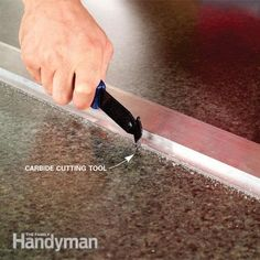 Make A Plastic Laminate Table Top