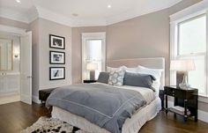 Taupe bedroom color