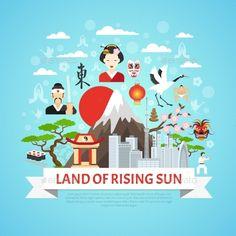 Japan Concept Background
