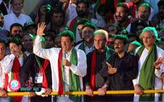 KARACHI: Pakistan Tehreek-i-Insaf (PTI) Chairman #Imran Khan on Sunday addressed thousands of Karachi supporters eagerly awaiting to see the cricketer-turned-politician who has spent the last month...