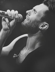 Adam Levine. Thank the good Lord for making him.
