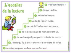 You searched for escalier de lecture - Lutin Bazar French Teacher, Teaching French, Reading Centers, Reading Skills, Montessori, French Flashcards, French Education, Core French, French Classroom