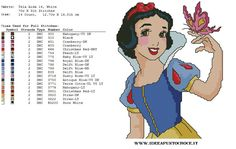 Snow White w/ butterfly 2 of 2