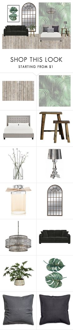 """""""Green room"""" by liva-haarup ❤ liked on Polyvore featuring interior, interiors, interior design, home, home decor, interior decorating, Inspire Q, LSA International, Kartell and Chloé"""