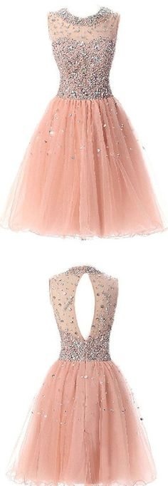O-Neck Beading Homecoming Dresses,Short Prom Dresses,Cheap Homecoming Dresses, Graduation Dress, Formal Women Dress,Homecoming Dress,