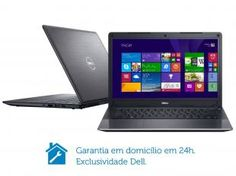 Notebook Dell Vostro V14T-5470-A20 Intel Core i5 - 4GB 500GB Windows 8 LED 14 HDMI Placa de Vídeo 2GB