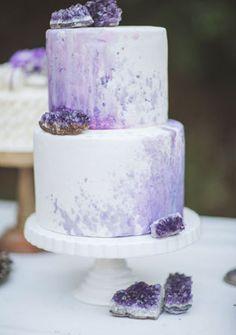 Тренд: свадебные торты в виде драгоценных камней - The-wedding.ru