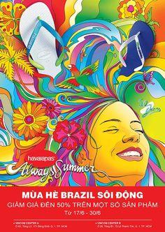 Khuyến mãi Havaianas giảm đến 50% Mùa hè Brazil sôi động