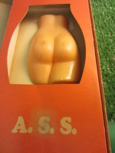 BETTER THAN LSD - A.S.S. - 1960s VINTAGE RISQUE NOVELTY GIFT gag kitschy