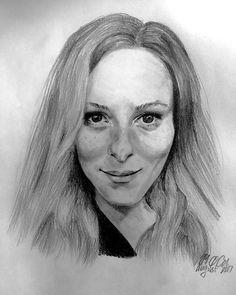"""27 Synes godt om, 2 kommentarer – Maja Ø. Oehlenschlæger (@artisticmoe) på Instagram: """"#drawing #portrait #art #kunst #tegning #sketch #portræt"""""""