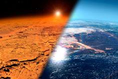 Vapaana lainehtivia valtameriä ja happipitoista ilmaa. Jättimäinen magneetti voisi tehdä Marsista ihmiselle sopivan jo muutaman sukupolven kuluessa.