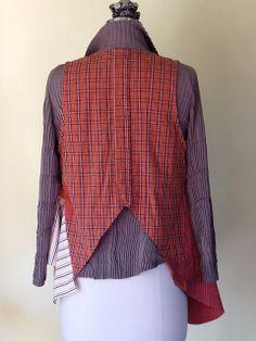 Men's Shirts into a Vest