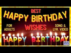 """Happy Birthday Song for adults ❤️New Good Wishes """"Happy Birthday Song"""" 2020 Birthday Wishes WhatsApp Happy Birthday Country, Happy Birthday Words, Happy Birthday Wishes For A Friend, Birthday Wishes With Name, Happy Birthday Wishes Images, Birthday Wishes Funny, Happy Birthday Pictures, Birthday Songs, Happy Birthday Sister"""
