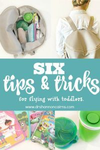 Tips & Tricks for Flying With Toddlers - Shannon Cairns