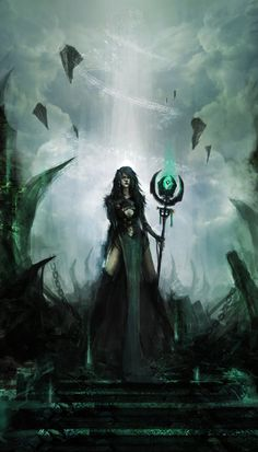 Summoner by *theDURRRRIAN on deviantART