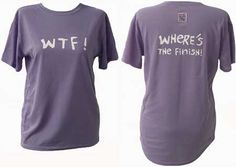 WTF shirt I want for running