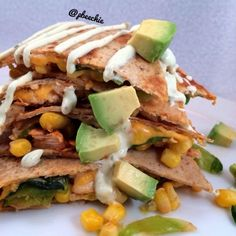 Ripped Recipes - Spicy Chili Lime Chicken Quesadillas  - Spice up that regular ol' quesadilla!
