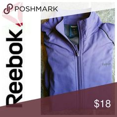 REEBOK ZIPPERED WATER RESISTANT JACKET SIZE SMALL ●REEBOK ZIPPERED WATER RESISTANT JACKET ●SIZE SMALL ●zipper front ●Water resistant ●100% polyester ●Machine wash with like colors, tumble dry, low ●Great jacket for running in inclement weather! Reebok Jackets & Coats Utility Jackets