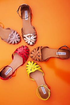Beeyootiful sandals, would love to own one!