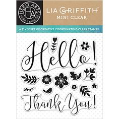 Hero Arts Clear Stamps SPRING HELLO By Lia CL926 zoom image
