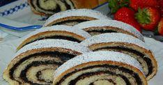 Klasický kakaový závin so zaujímavou kakaovou plnkou... Sweet Desserts, Sweet Recipes, Czech Recipes, Ethnic Recipes, Strudel, Ratatouille, Muffin, Food Porn, Food And Drink